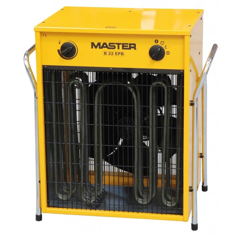 Nagrzewnica powietrza elektryczna Master B 22 EPB 22kW 400V cena